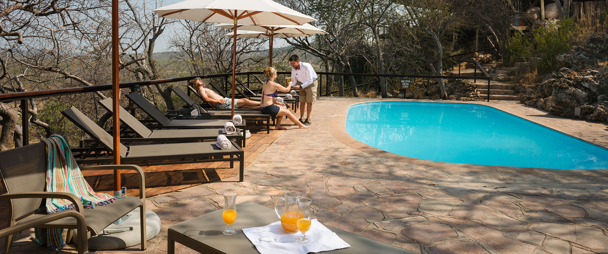 Namibia Etosha Safari - Ongava Lodge Pool