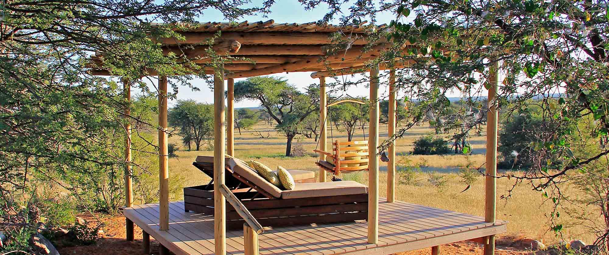 Otjimbondona Kalahari - Outdoor sala lounge