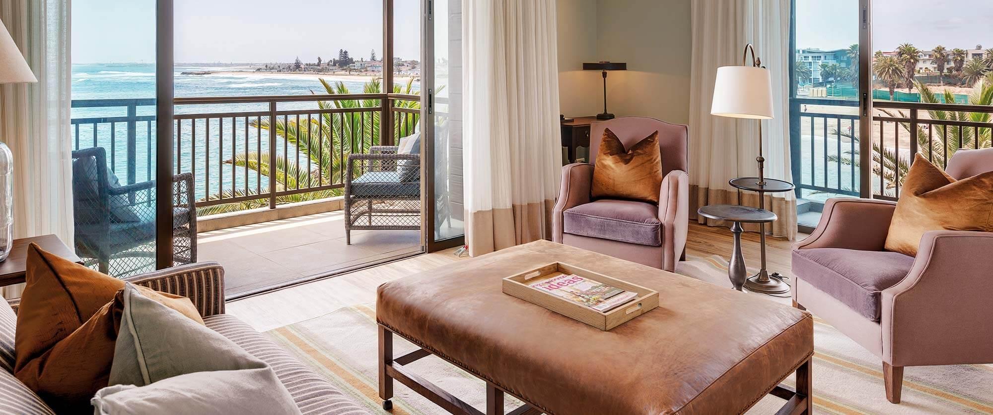 Rooms at Strand Hotel Swakopmund, Namibia