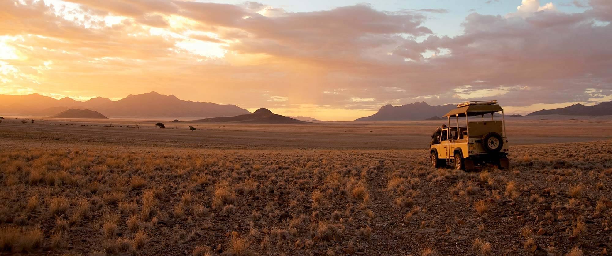 Safari Drives in Wolwedans NamibRand Nature Reserve, Namibia