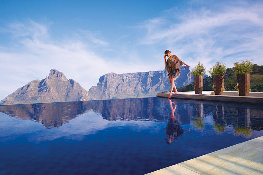 Pool at One&Only Cape Town, South Africa