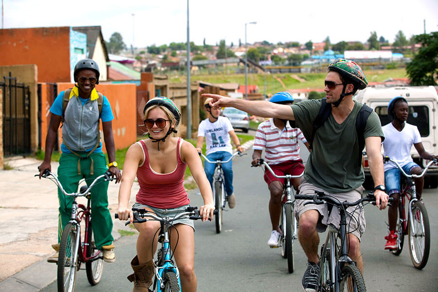 Johannesburg South Africa - Soweto township bike tours
