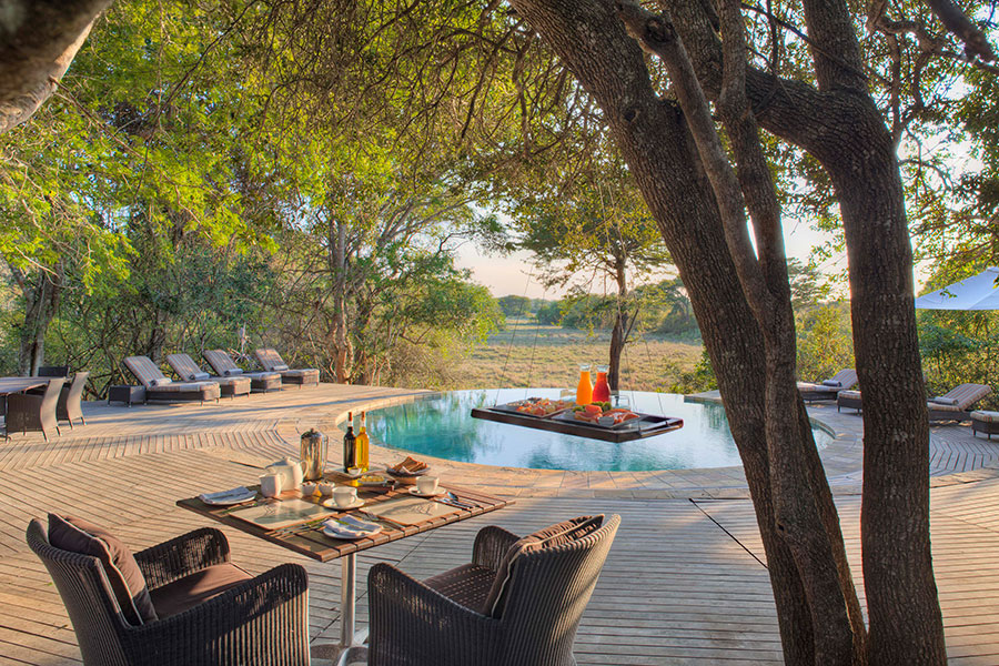 Pool at andBeyond Phinda Forest Lodge