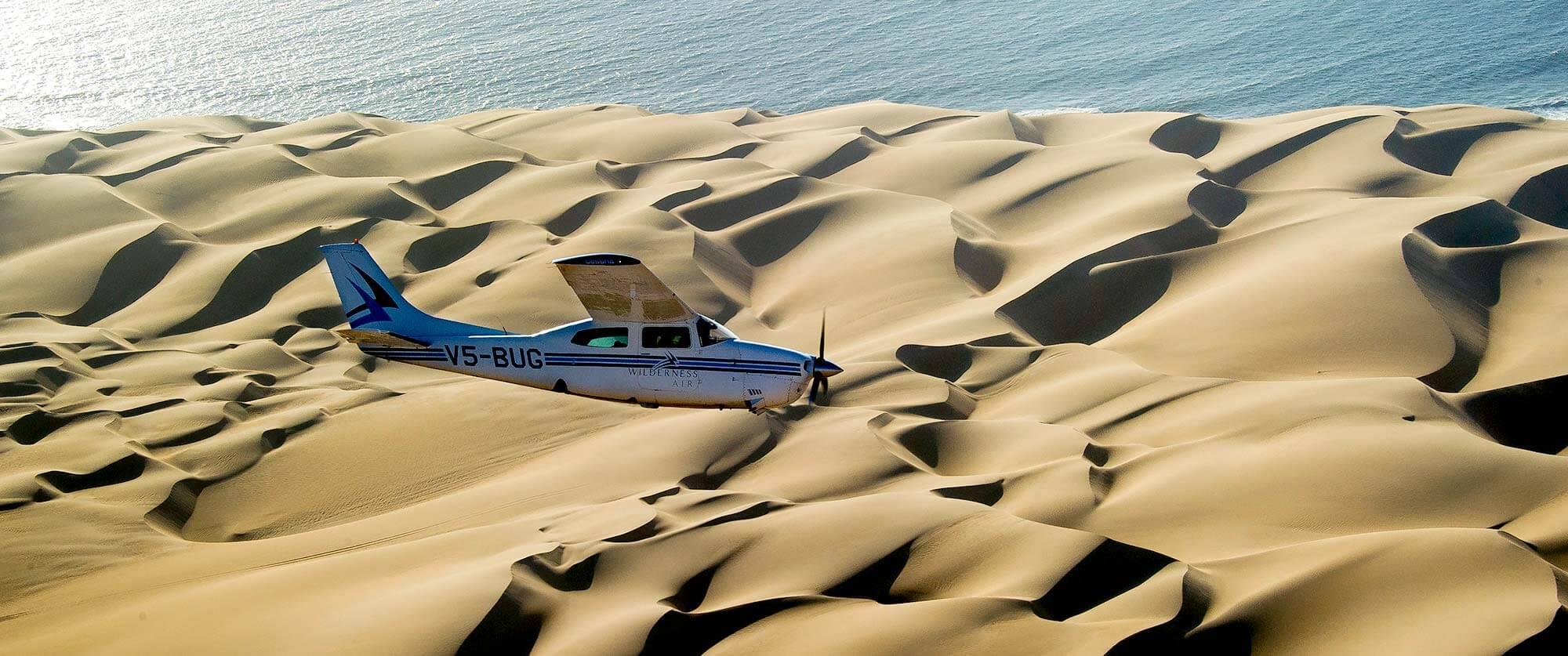 Scenic Flight Over Sossusvlei - Namibia Highlights Vacation