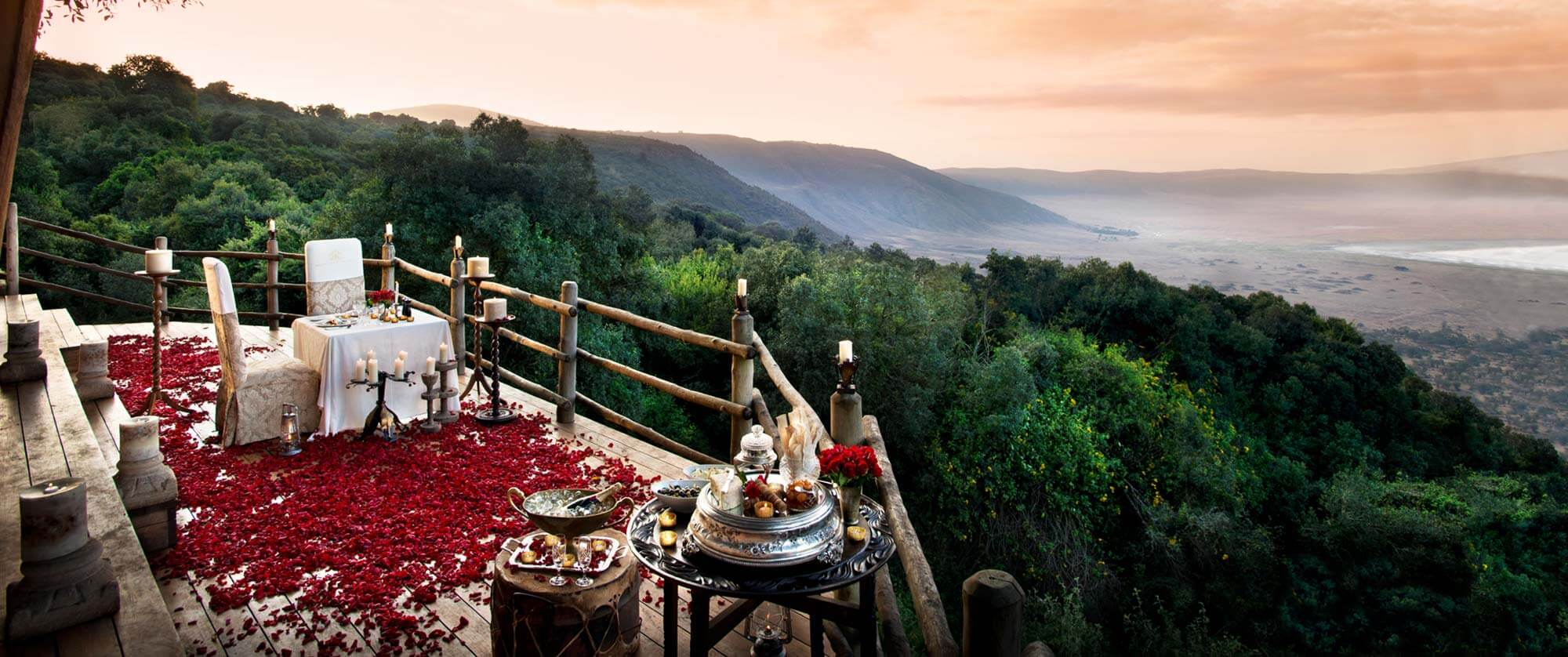 Ngorongoro Crater Lodge Views