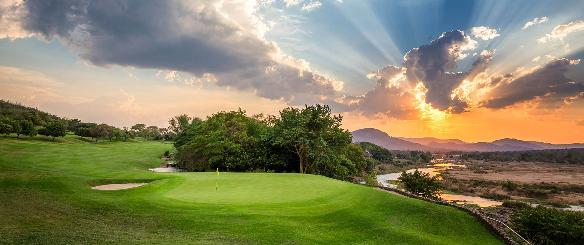 Leopard Creek Country Club Golf Course, South Africa - Rovos Rail Luxury Golf Safari Tour