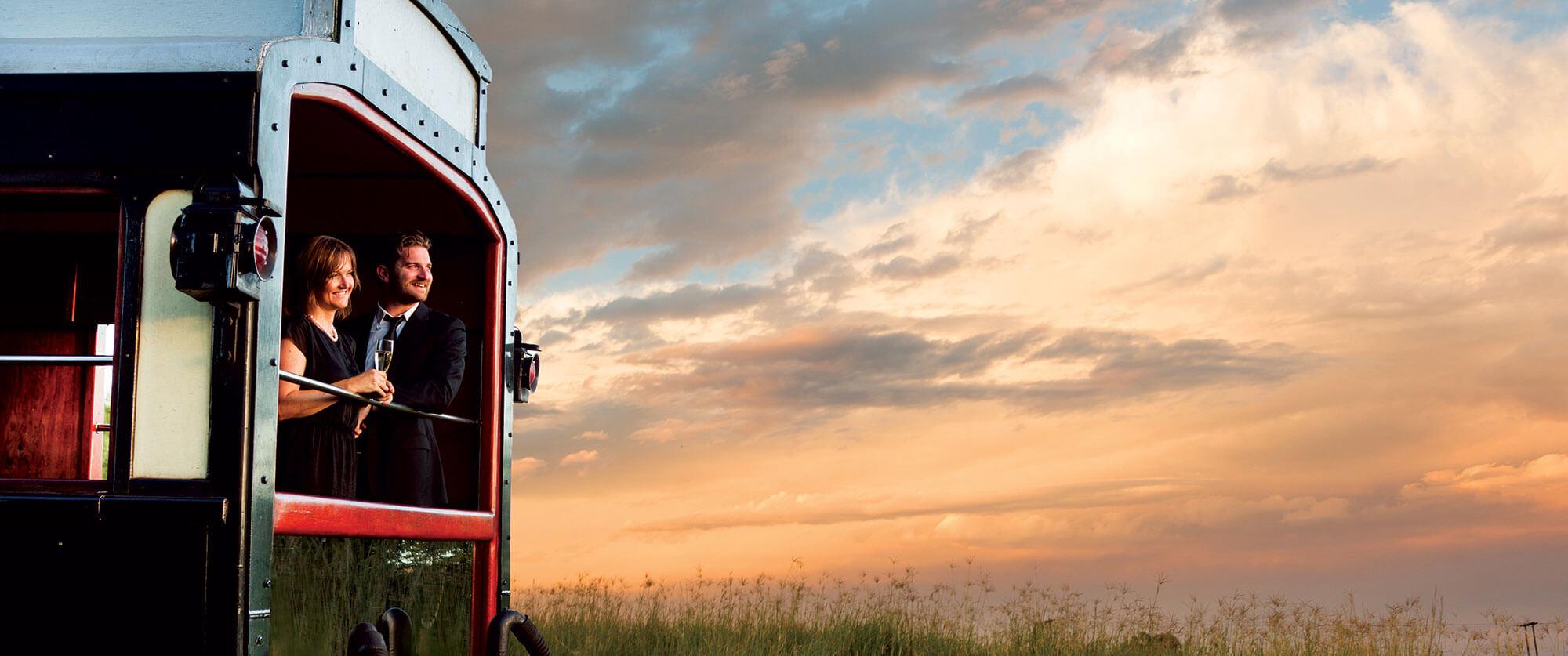 Rovos Rail Observation Car - Rovos Rail Golf Safari South Africa
