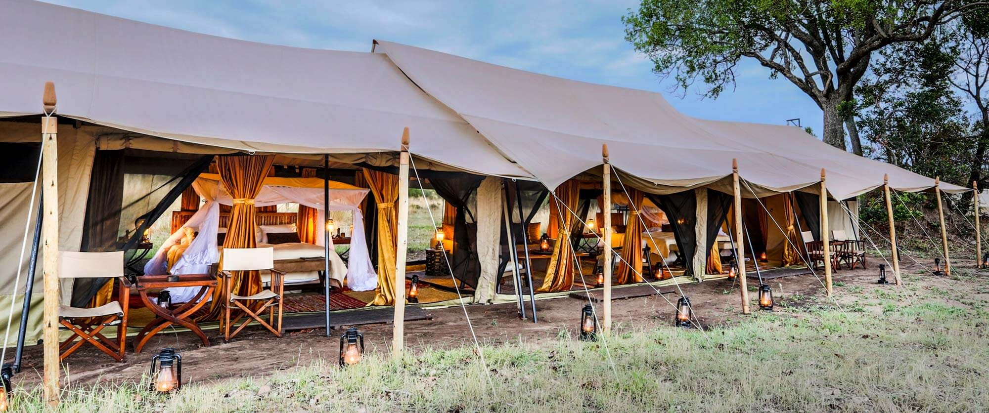 Family Tent at Legendary Serengeti Mobile Camp Safari - Great Migration Safari Packages