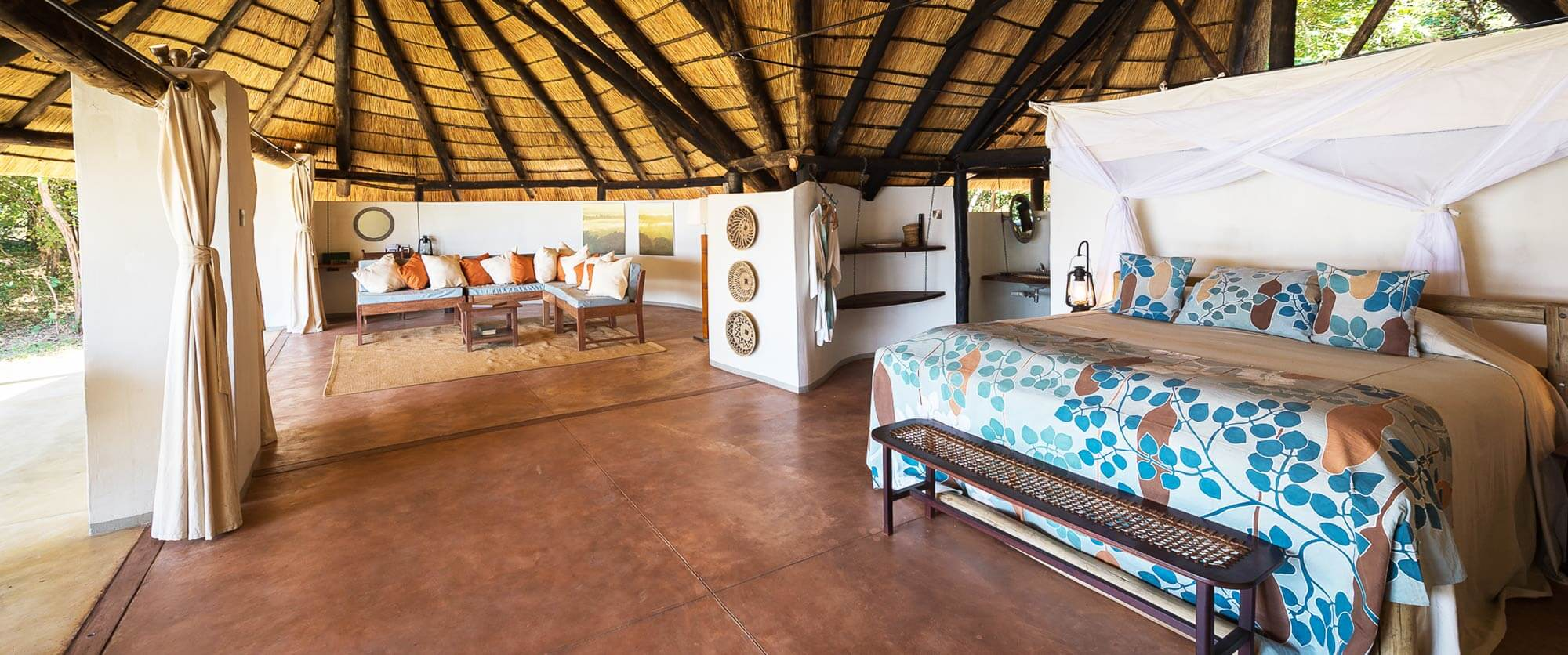 Nkwali Camp South Luangwa National Park - South Luangwa, Mana Pools, and Victoria Falls Adventure Package