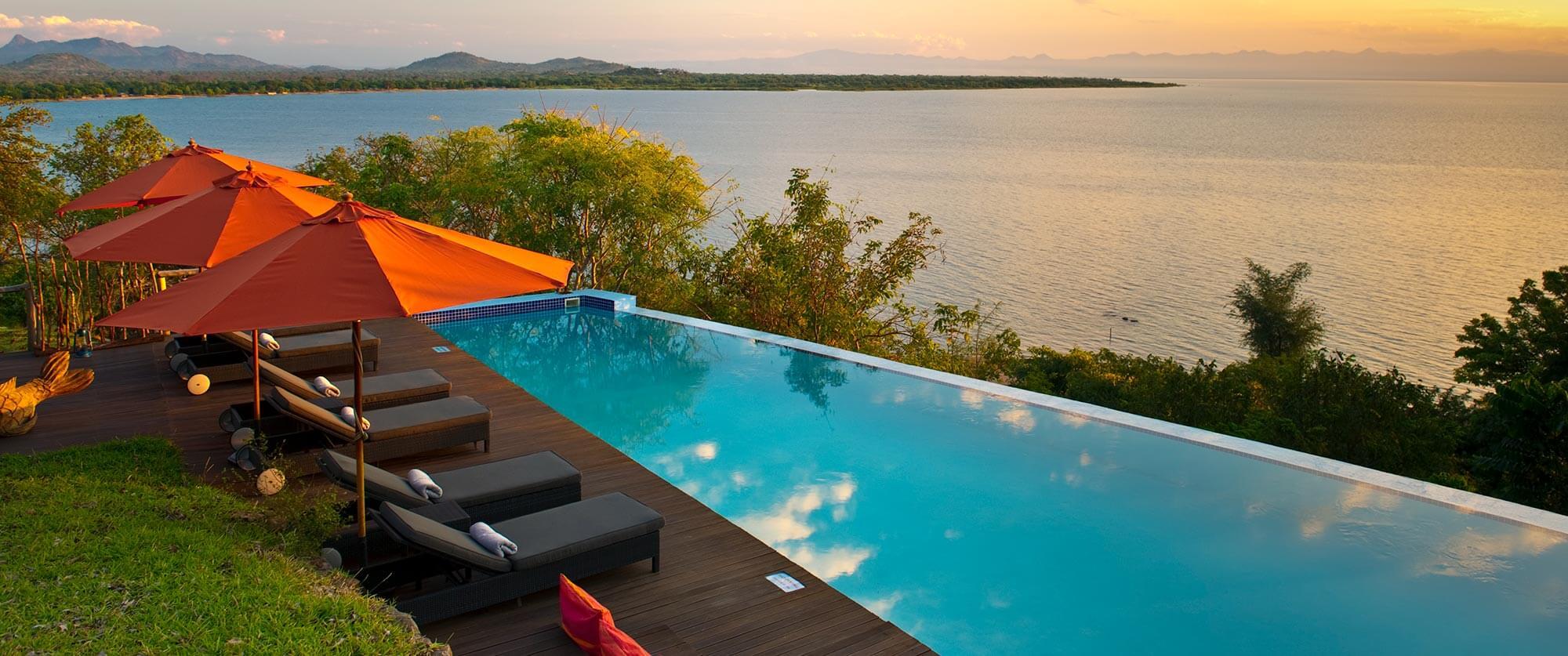 Pumulani Lodge Pool - Lake Malawi Vacation Package