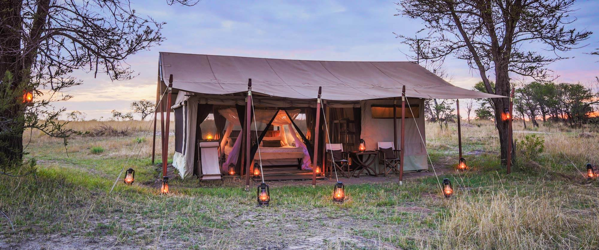 Tent at Legendary Serengeti Mobile Camp - Tanzania Safari Tours: Ultimate Northern Circuit Package