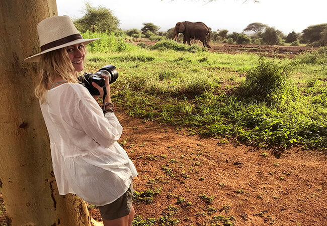 How to Pack for an African Safari - Light, Breezy Blouse