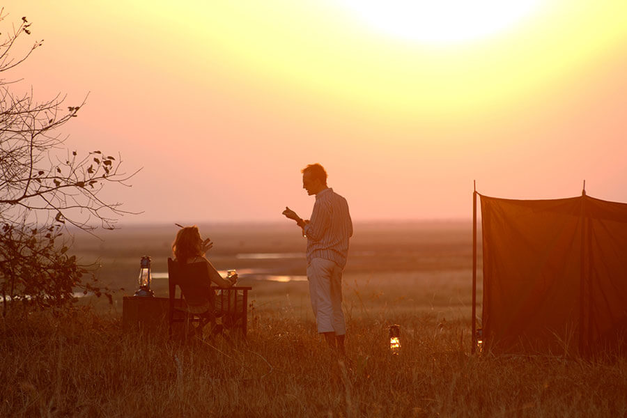 Fly Camping at Chada Katavi - Katavi National Park - Remote Tanzania Safari Adventure
