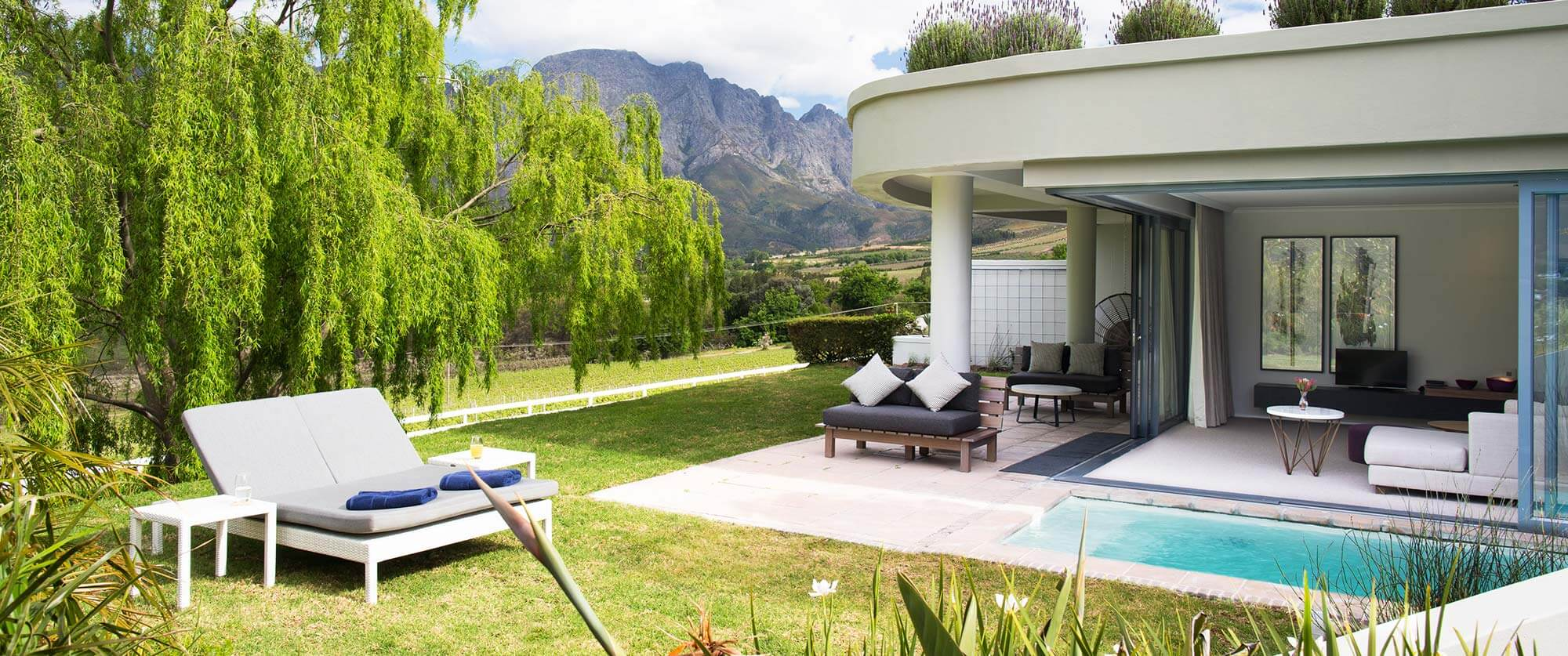 Mont Rochelle - Cape Winelands Vacation - South Africa and Victoria Falls Package: Ultimate Luxury Adventure