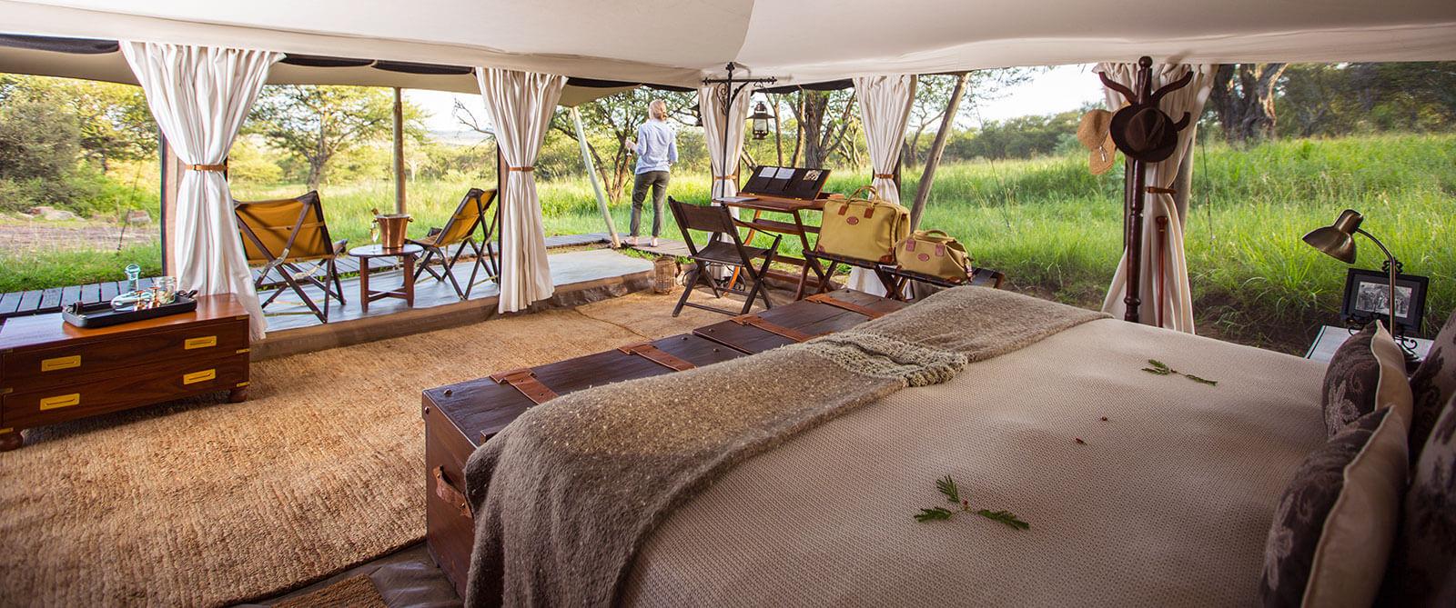Serengeti Pioneer Camp - Great Migration Tented Camp - Tanzania Safari Honeymoon