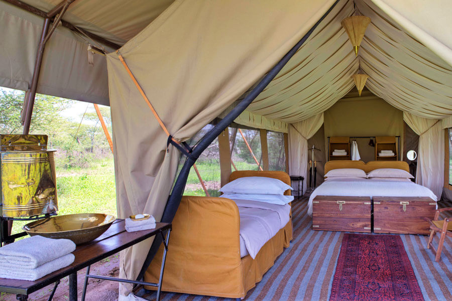 Mobile Tented Camp Safari - Serengeti Tanzania - Serengeti Under Canvas