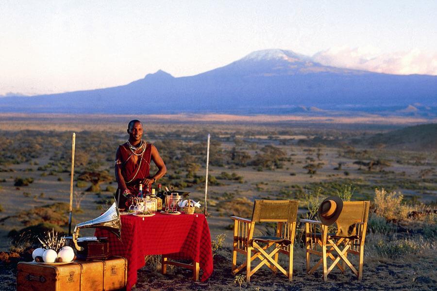 Mt. Kilimanjaro - Amboseli Kenya -Tortilis Camp