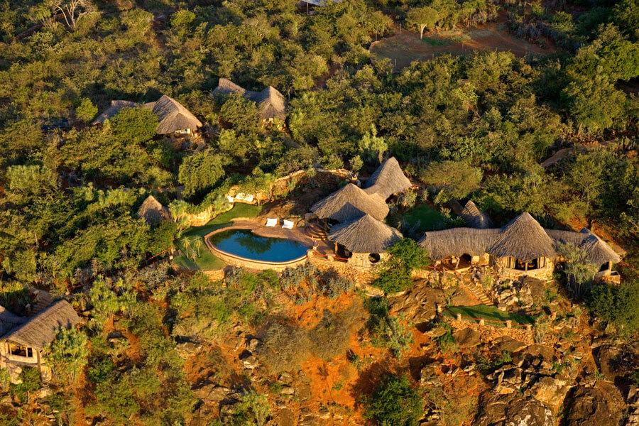 Hotel Lodge - Laikipia Kenya - Ol Malo Lodge