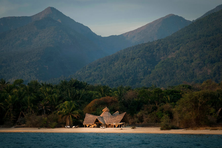 View of the lodge - Mahale Tanzania - Greystoke Mahale Lodge