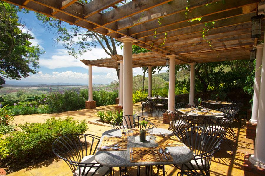 Lodge View - Ngorongoro Tanzania - Gibbs Farm
