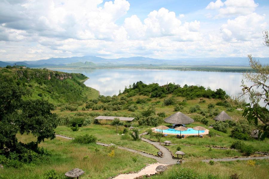 Lake Elmenteita along the Great Rift Valley - Great Rift Valley Kenya - Sunbird Lodge