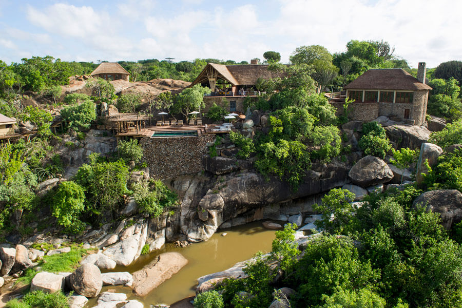 View of the Lodge - Serengeti Tanzania - Mwiba Lodge