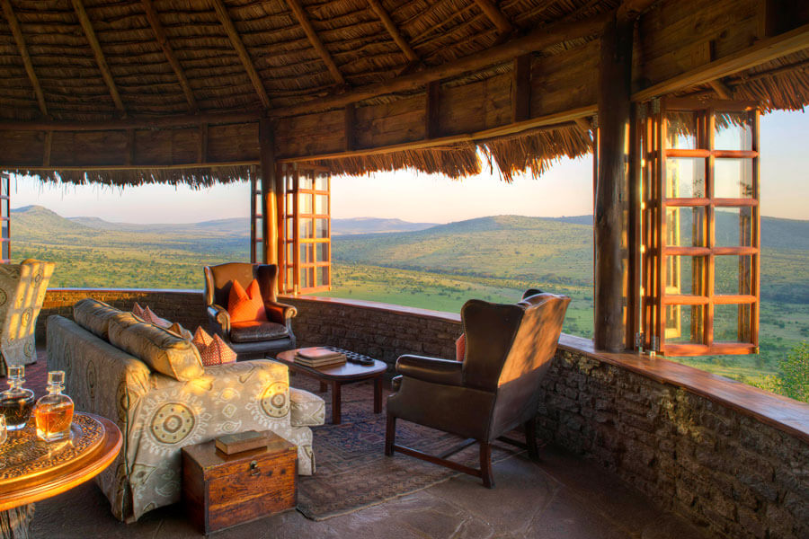 Lodge View - Serengeti Tanzania - Klein's Camp