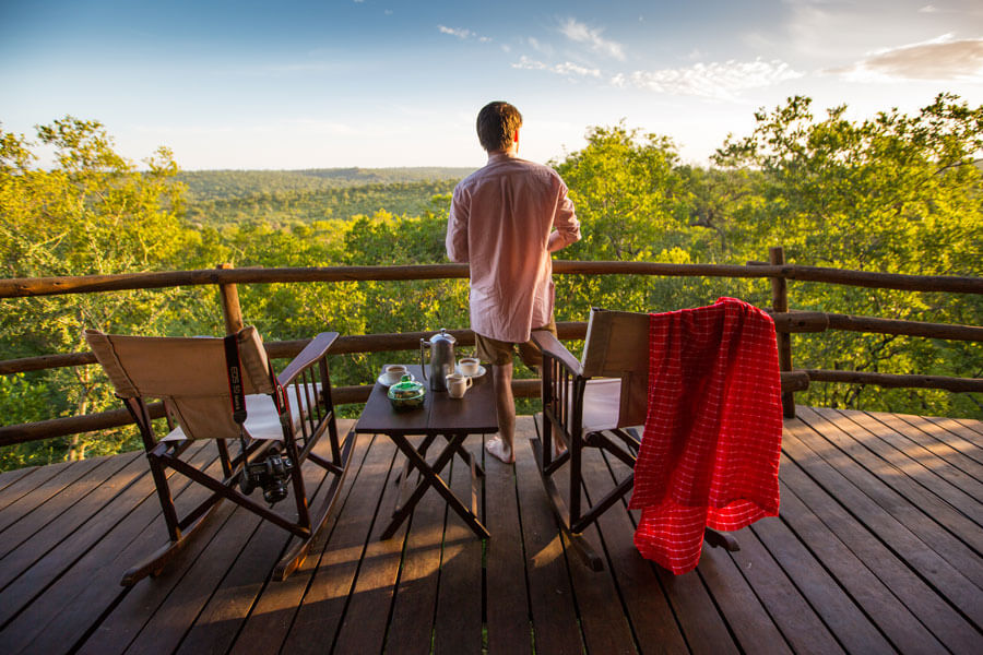 View from Lodge - Tarangire Tanzania - Tarangire Treetops