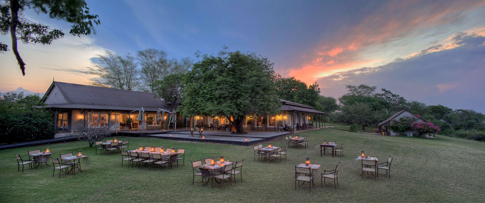 Dinner at Kirkman's Kamp - Luxury South African Safari: andBeyond Phinda and Sabi Sands