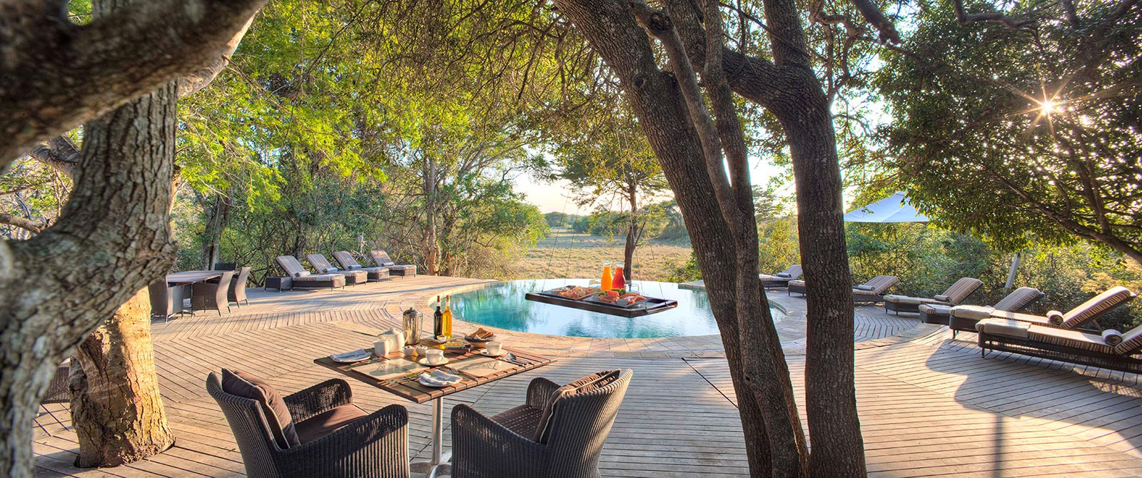 Pool at andBeyond Phinda Forest Lodge - Luxury South African Safari: andBeyond Phinda and Sabi Sands