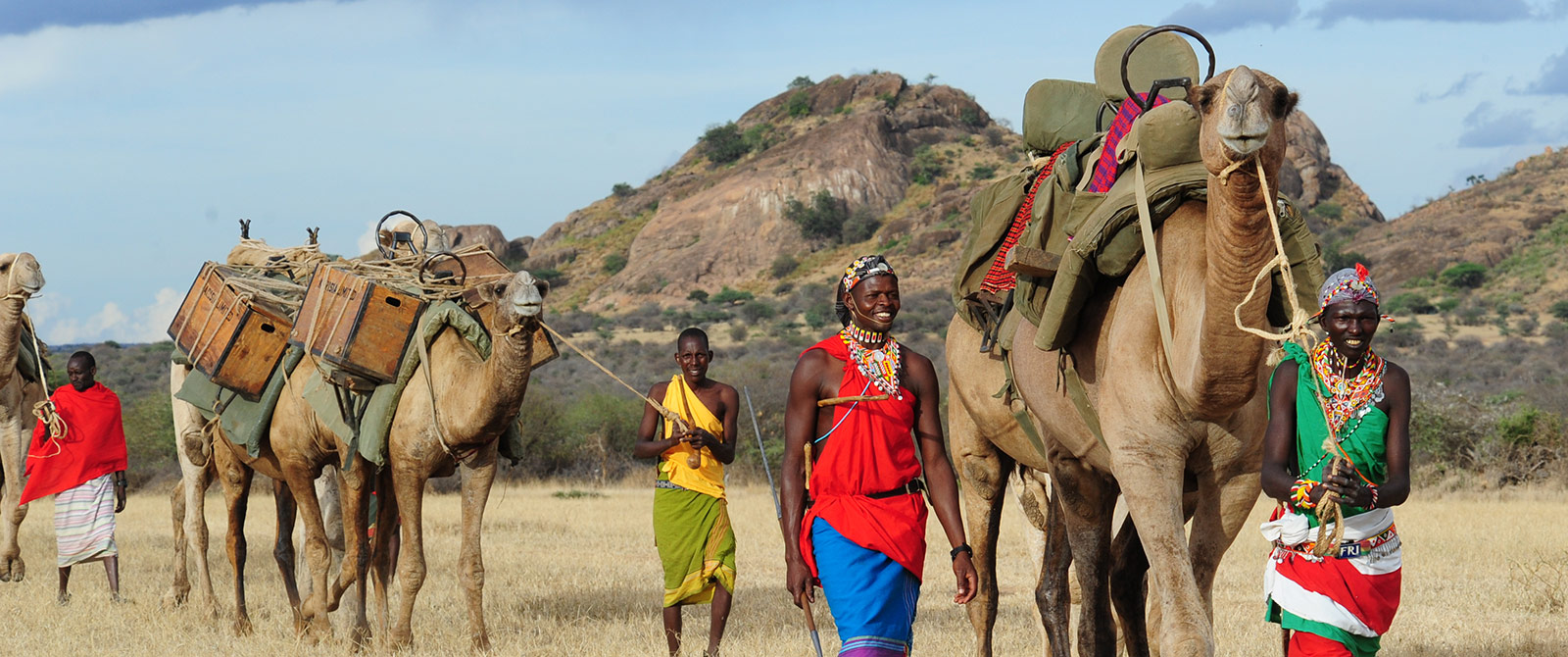 Karisia Walking Safaris with Camels - Kenya Walking Safari: A Walk in the Wild Travel Package