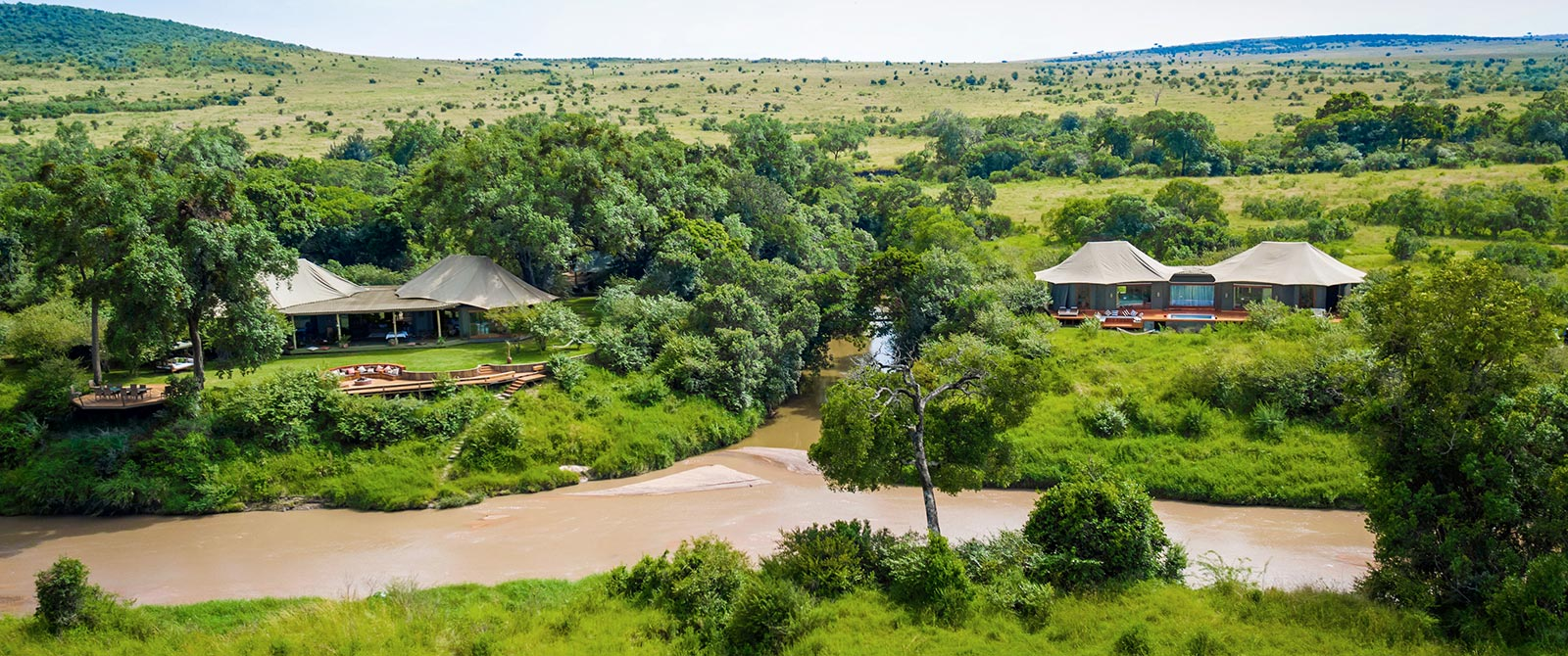 Great Migration Safaris - Exclusive Sala's Camp in Masai Mara - Romantic Kenya: Giraffe Manor and Masai Mara Safari