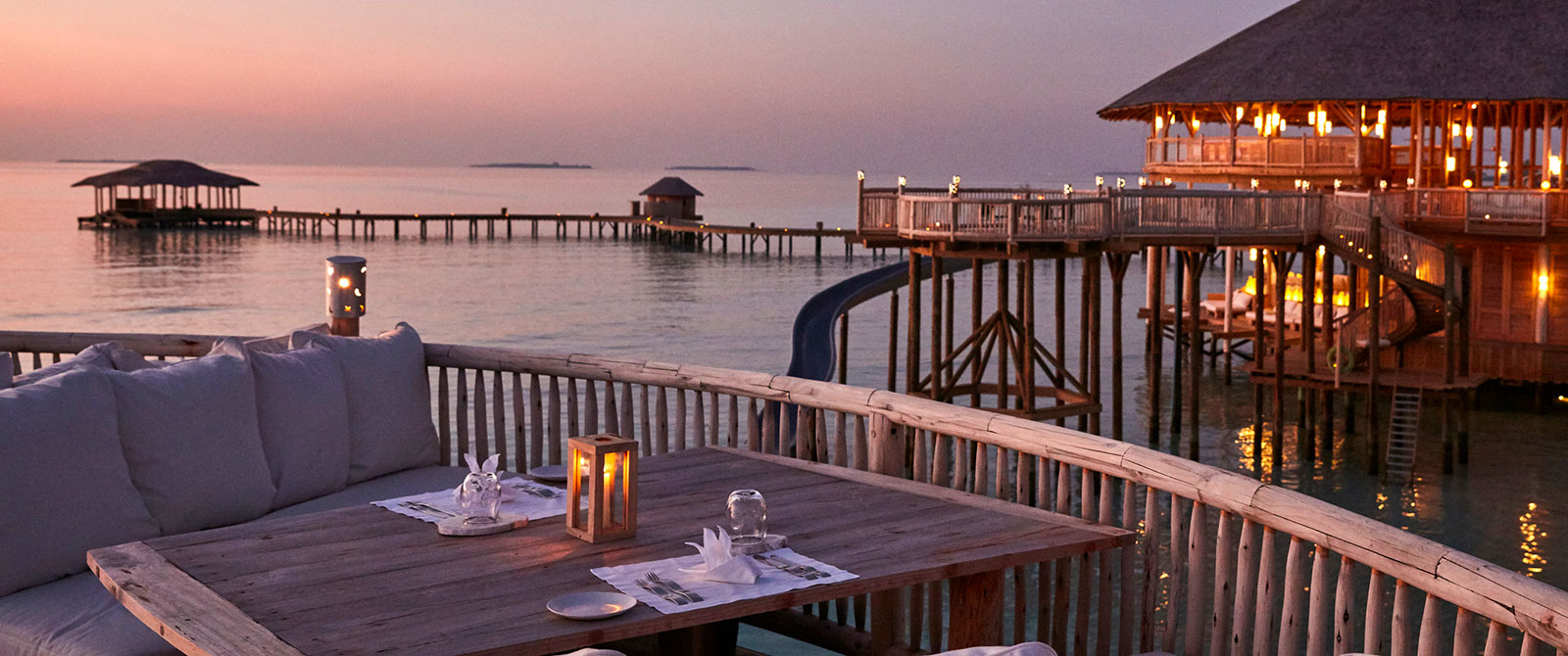 Soneva Jani Resort - So Starstruck Restaurant - Maldives Overwater Bungalow Vacation