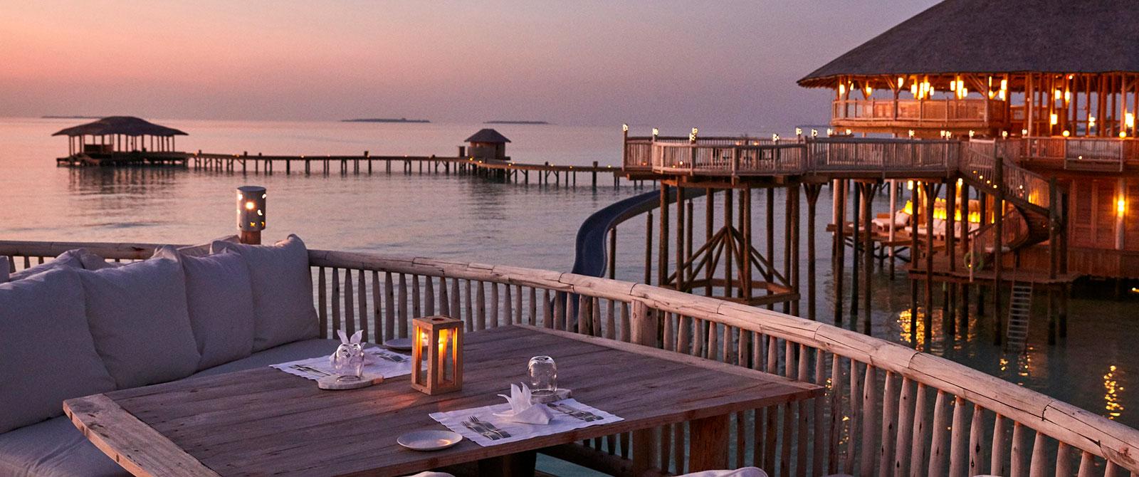 Soneva Jani Resort - So Starstruck Restaurant - Maldives Overwater Bungalow Vacation