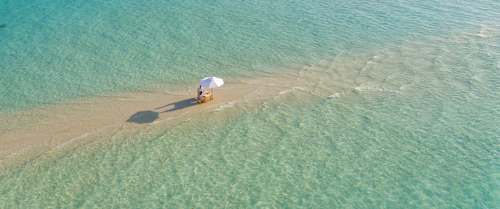 Soneva Jani Resort - Private Sandbank Ocean Dining - Maldives Overwater Bungalow Vacation