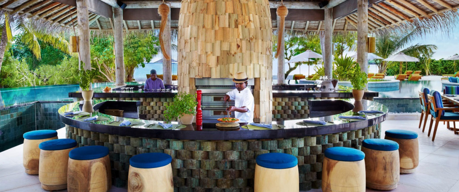 Six Senses Laamu - SipSip Restaurant - Trip to Maldives: Overwater Villa Vacation