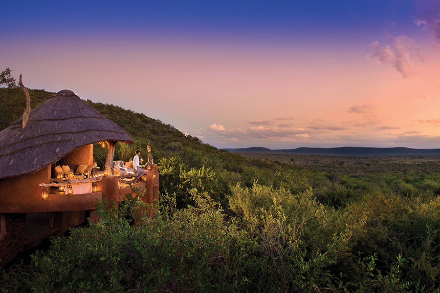 Views from Madikwe Safari Lodge