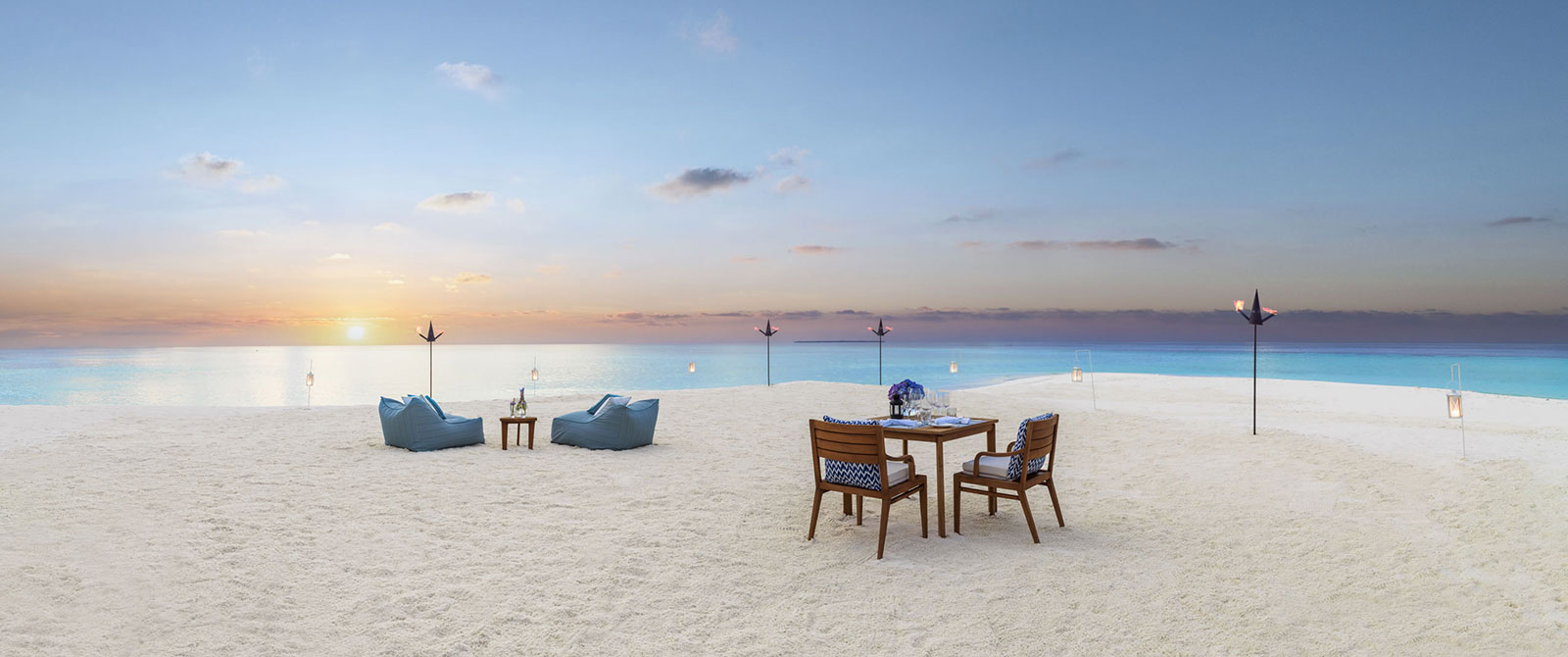 One&Only Reethi Rah Resort Maldives - Private Beach Dining