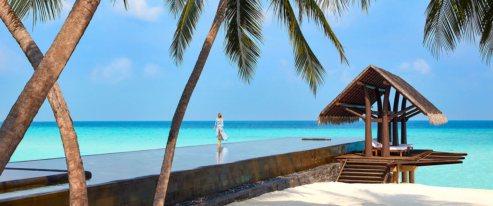 Luxury Lap Pool at One&Only Reethi Rah Maldives