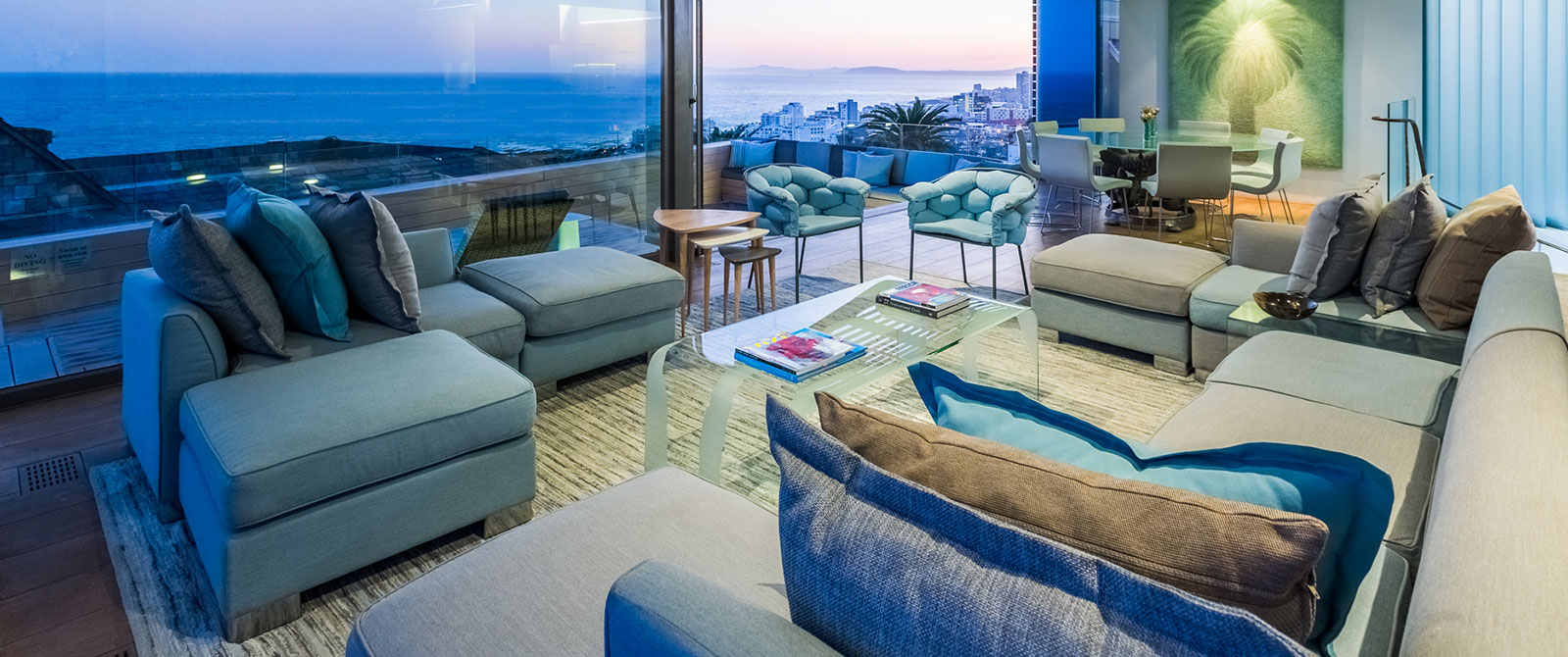 Lounge at Ellerman House South Africa - Cape Town Explorer and Family Safari Adventure