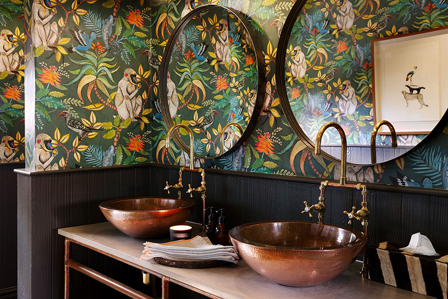 Buffalo Suite Bathroom at MalaMala Camp, South Africa