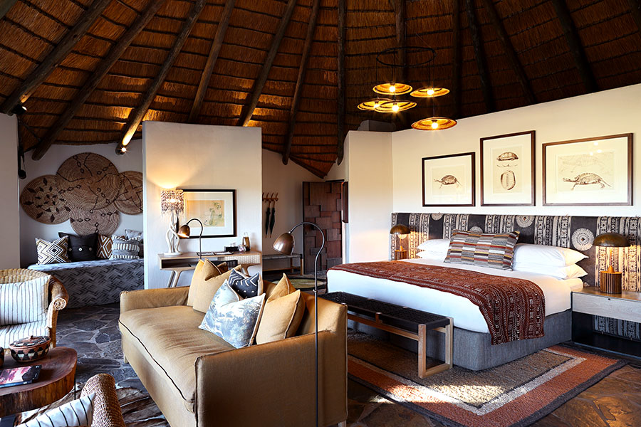 Buffalo Suite Bedroom, MalaMala Camp South Africa