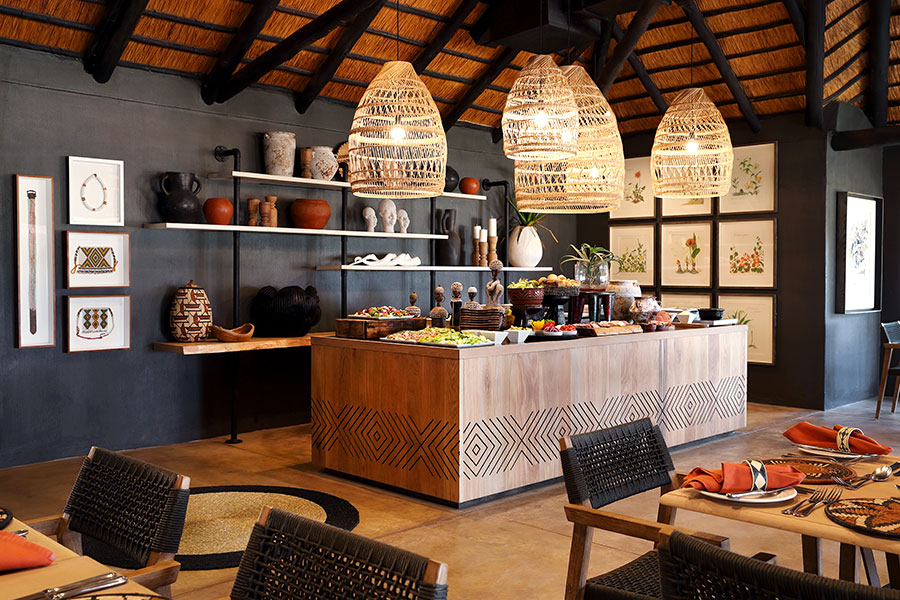 MalaMala Camp South Africa - Kitchen and Dining