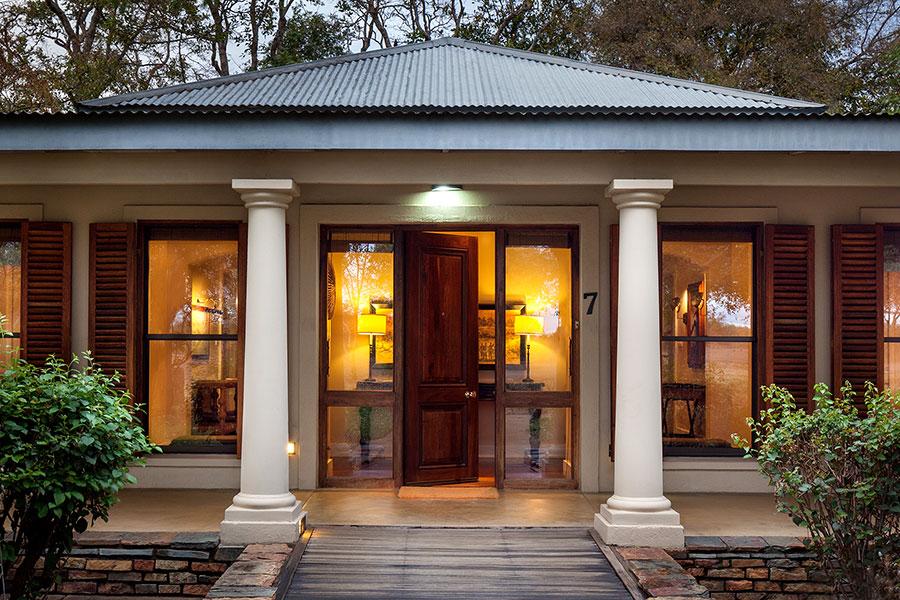 MalaMala Rattrays Camp - Suite Entrance Exterior