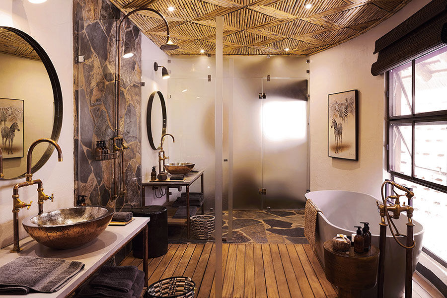 MalaMala Sable Camp - Suite Bathroom
