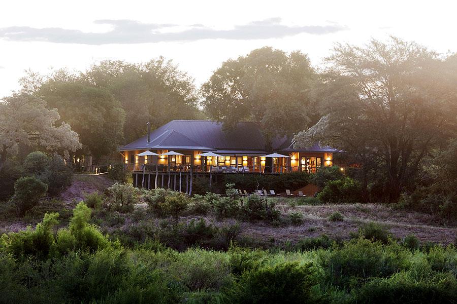 MalaMala Sable Camp - Exterior at Dusk - Kruger Safaris South Africa