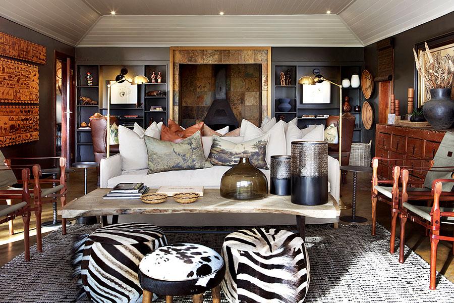 MalaMala Sable Camp - Main Lodge Living Area
