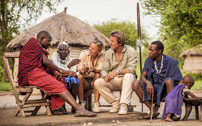 Tanzania Maasai Cultural Village Visit