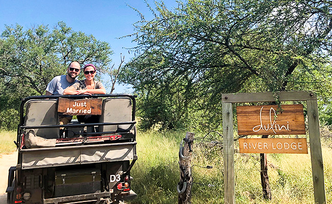 Post-wedding safari in South Africa
