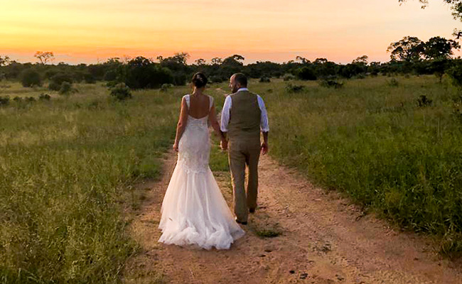 South Africa wedding at Dulini River Lodge